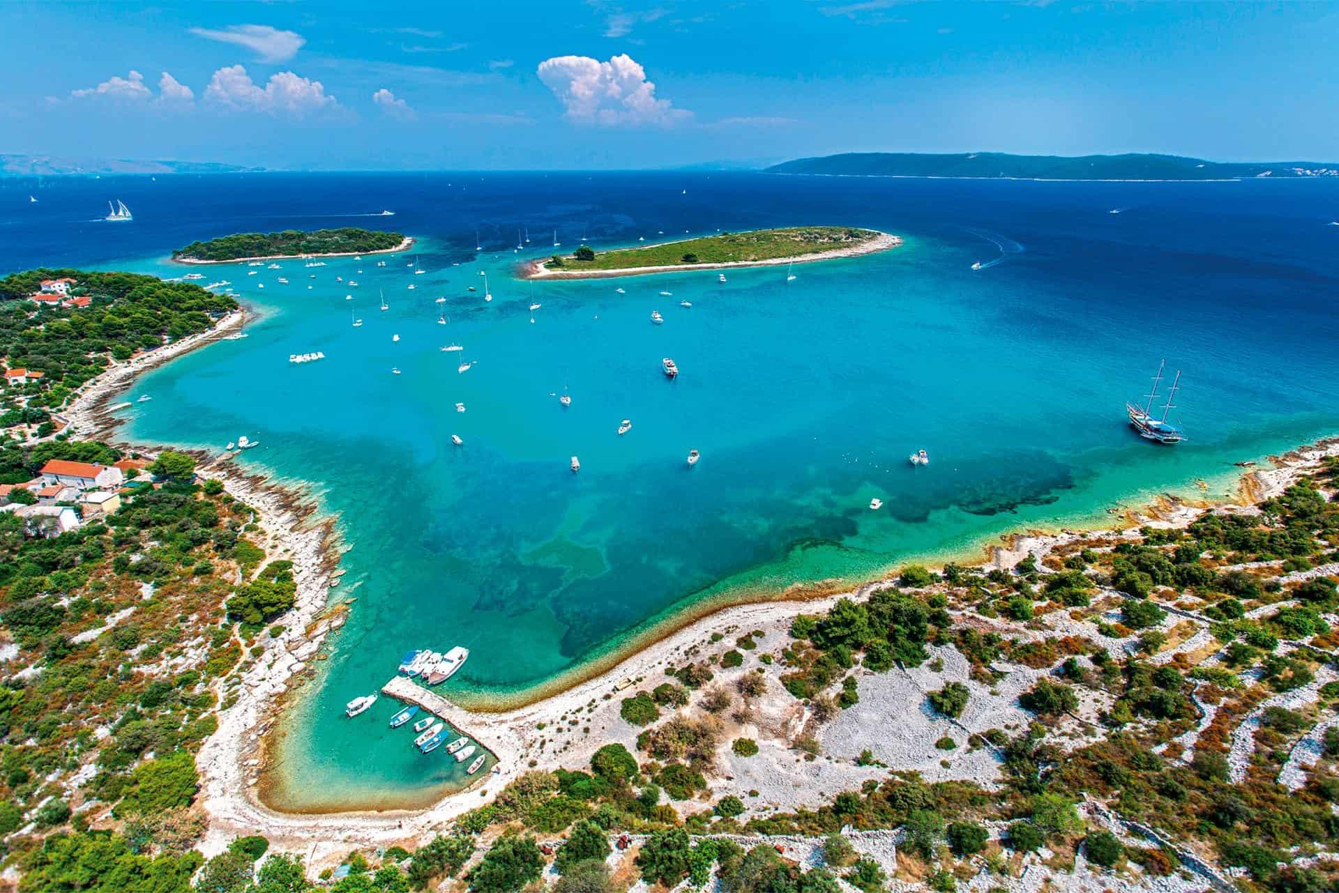 Krknjasi Blue Lagoon best boat trip from Split