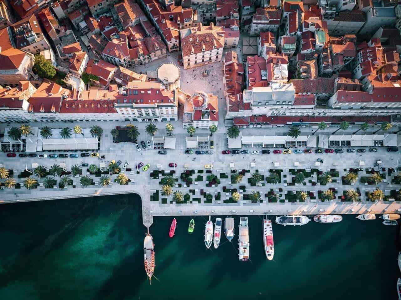 Split Riva promenade boat trips from Split