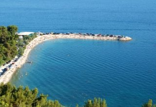 Most popular beaches in Split