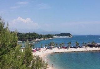 Popular beaches in Split Croatia